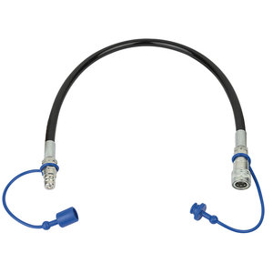 Showtec Q-lock CO2 slang 3/8 inch 0,75m