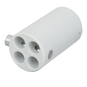 Showtec Pipe and drape 4-weg connector 45,7mm wit