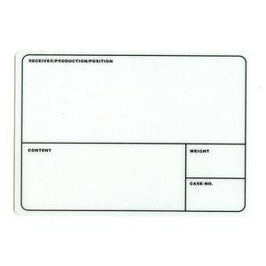 ProDJuser Case labels wit (50 stuks)