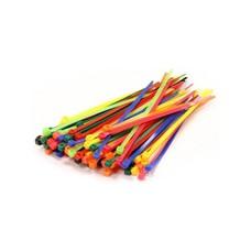 OEM 10025 tie-wrap kabelbinder 100mm blauw (100 stuks)