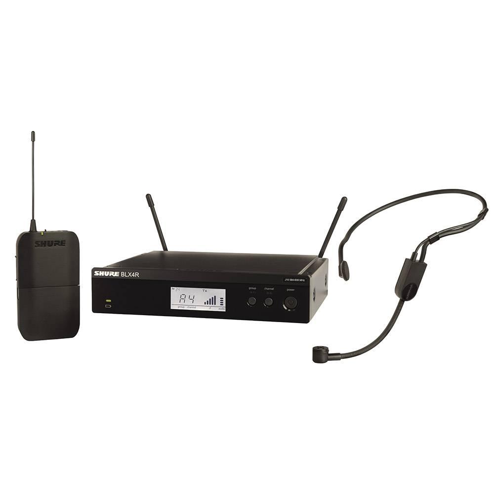 Shure BLX14R-P31 draadloze headset microfoon (rackmount)