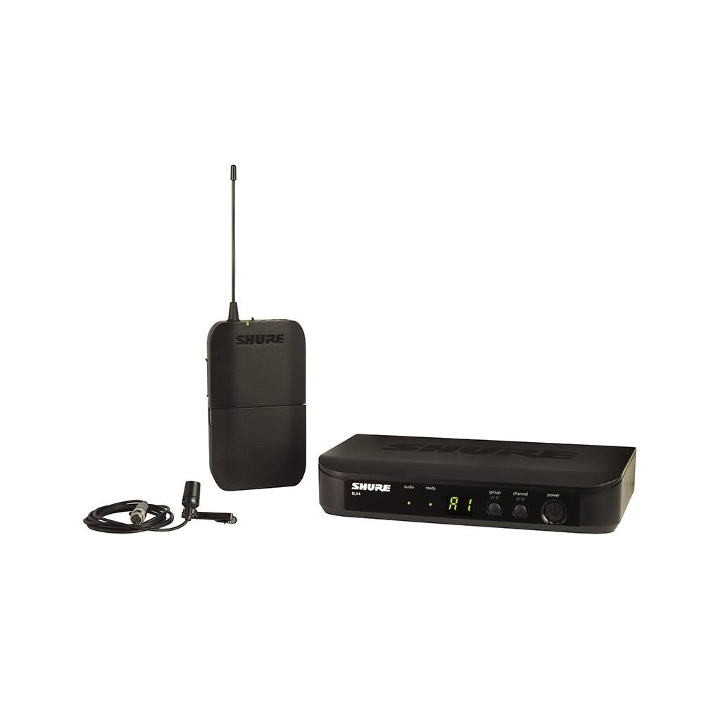 Shure BLX14-CVL draadloze dasspeld microfoon