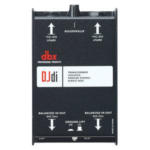 DBX DJDI passieve tweekanaals DI box