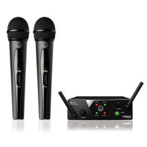 AKG WMS40 Mini 2 dubbele draadloze microfoonset