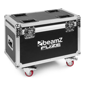 Beamz FCFZ4 Flightcase voor 4 Fuze movingheads