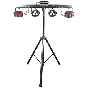 Chauvet DJ Gig Bar 2 lichtset met 9 lichteffecten op statief & bar
