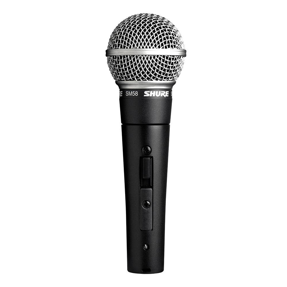 Shure SM58SE Dynamische zang- en spraakmicrofoon met schakelaar