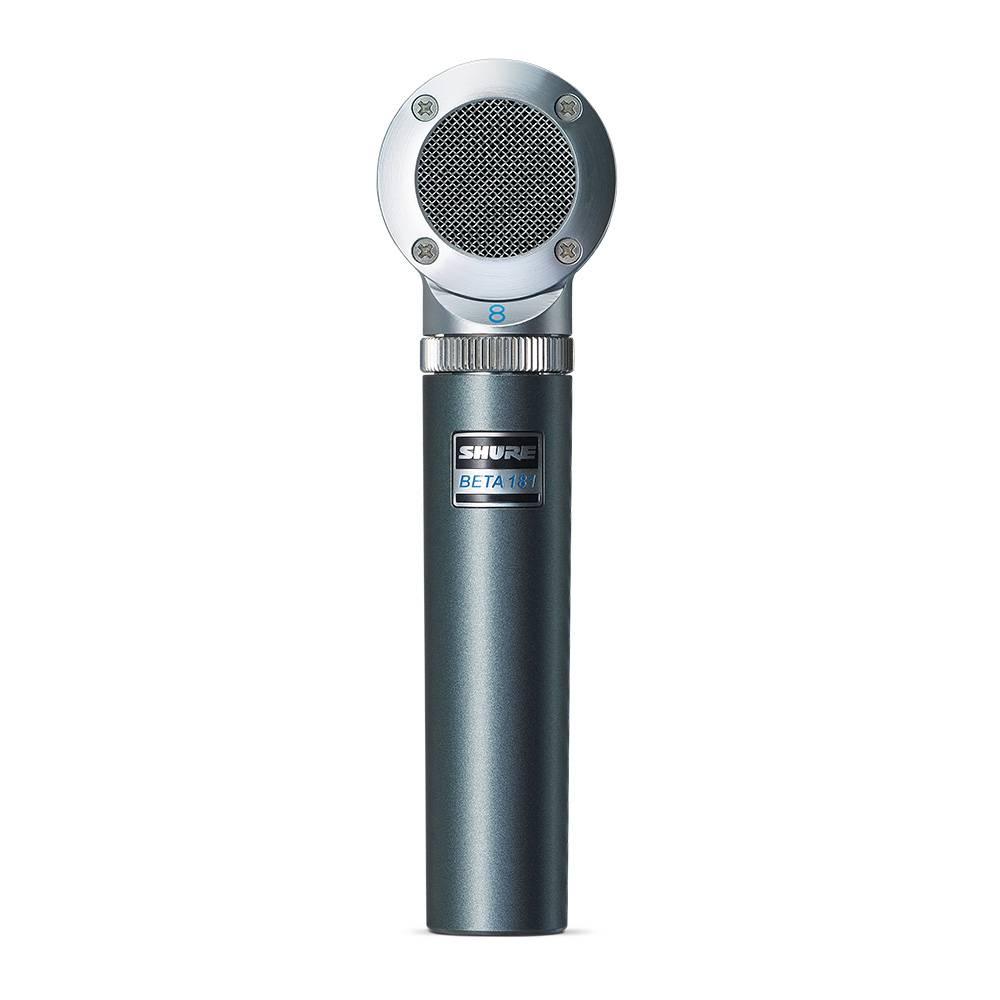 Shure Beta 181Bi Bi-directionele condensator instrument microfoon