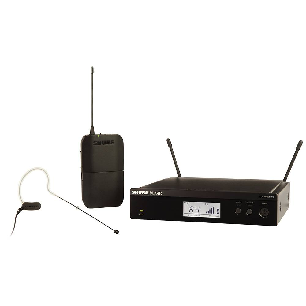 Shure BLX14R-MX53 Draadloos headset microfoonsysteem (rackmount)