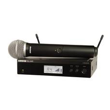 Shure BLX24R-PG58 Draadloos microfoonsysteem (rackmount)