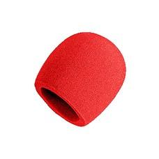 Shure Plopkap voor SM58/Beta58A/SM48/565SD rood