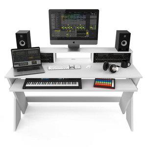 Glorious Sound Desk Pro White studiomeubel wit