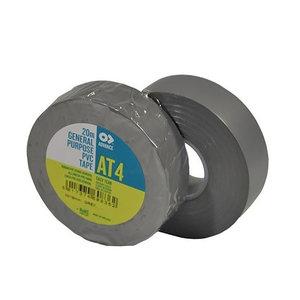 Advance AT4 PVC tape 19mm 20m grijs