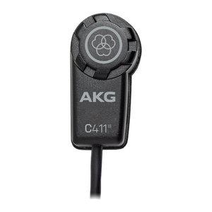 AKG C411 PP mini condensator microfoon voor snaarinstrumenten