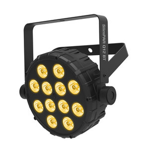 Chauvet DJ SlimPar Q12 BT RGBA LED par 12x 3,5W met bluetooth