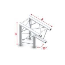 Showtec FT30 Driehoek truss 007 Hoek 90g apex down