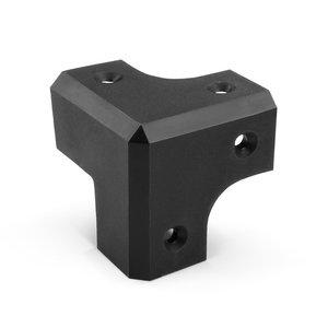 Adam Hall 318787 Plastic luidspreker hoek zwart