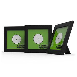 Glorious Vinyl Frame Set 7'' Black lijst voor platen (3 stuks)