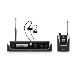 LD Systems U506 IEM HP draadloos in-ear monitor systeem met in-ears