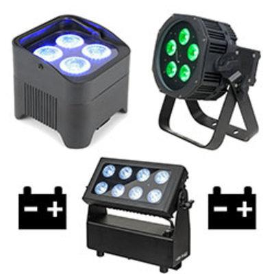 Accu LED spots