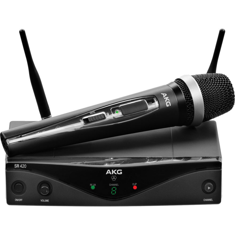 AKG WMS420 Vocal Set Band A draadloos microfoon systeem