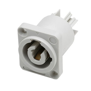 Adam Hall 7922 V2 powerconnector chassisdeel wit