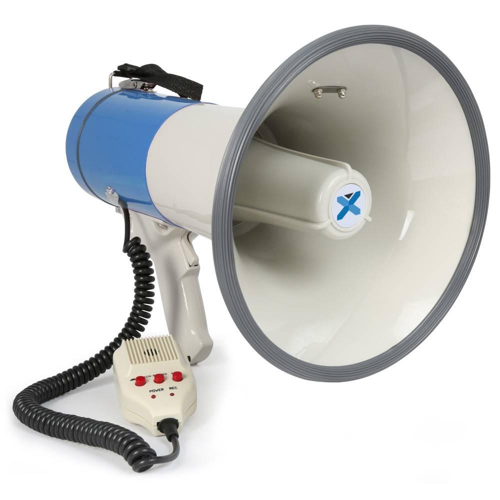 Vexus MEG055 Megafoon 50W opname-bluetooth-microfoon