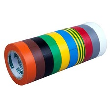 Advance AT206 PVC tape set 15mm 10m (10 kleuren)