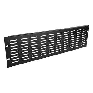 Adam Hall 87223 VH 19 inch ventilatiepaneel 3HE horizontale slots