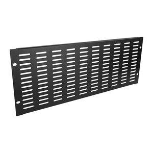 Adam Hall 87224 VH 19 inch ventilatiepaneel 4HE horizontale slots