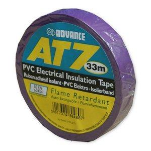Advance AT7 PVC tape 15mm 33m violet