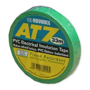Advance AT7 PVC tape 15mm 33m groen