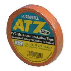 Advance AT7 PVC tape 15mm 33m oranje
