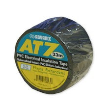 Advance AT7 PVC Tape 38mm 33m zwart