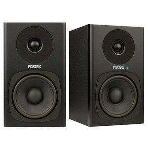Fostex PM0.4c actieve studiomonitorset zwart (2 stuks)