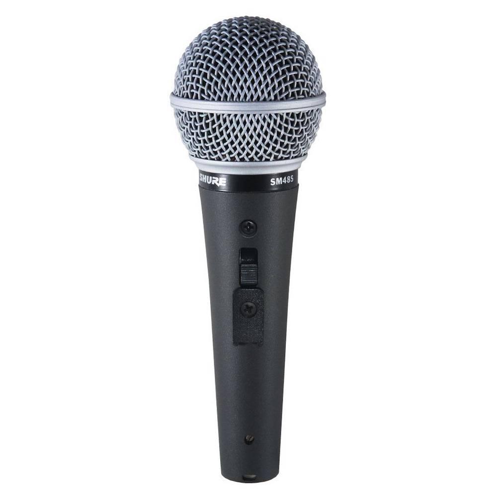 Shure SM48S Dynamische cardioide zangmicrofoon met schakelaar