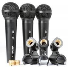 Vonyx VX1800S Dynamische microfoonset in koffer