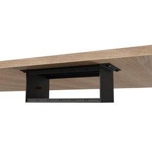 Caymon CASY003/B inbouwpaneel tafelmodel 2 HE 120mm