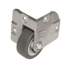 Penn Elcom Inbouw hoekwiel grijs 50mm