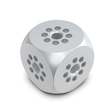 Showtec Cube voor enkele buis