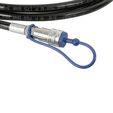 Showtec Q-Lock CO2 slang 3/8 inch 2.5m