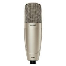 Shure KSM32/SL condensatormicrofoon champagne