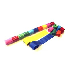MagicFX Stadium Streamers 20m x 5cm multicolour