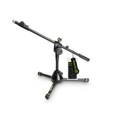 Gravity MS3122 HDB Laag microfoonstatief met driepoot en telescopische hengel