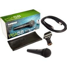 Shure PGA58-XLR dynamische zang- en spraakmicrofoon