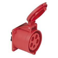PCE CEE 32A 5-polige inbouw socket female