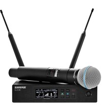 Shure QLXD24E-Beta 58A draadloze microfoon