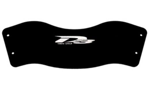 D3 Rear Toe Rubber with Rear Toe Overlay