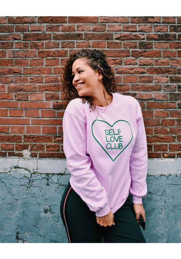 Self love club sweater