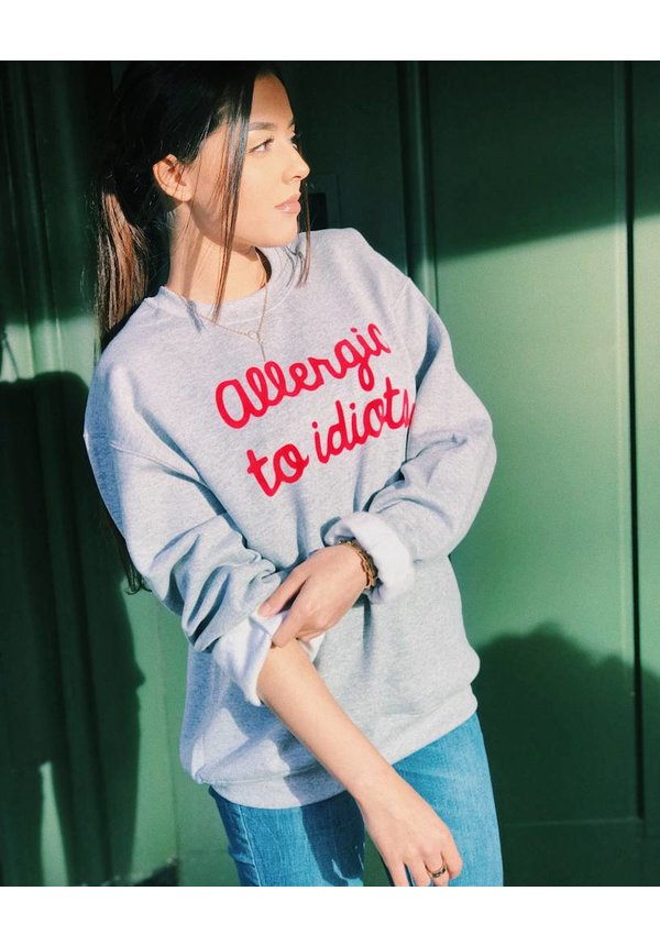 Customized sweater - Handwriting font